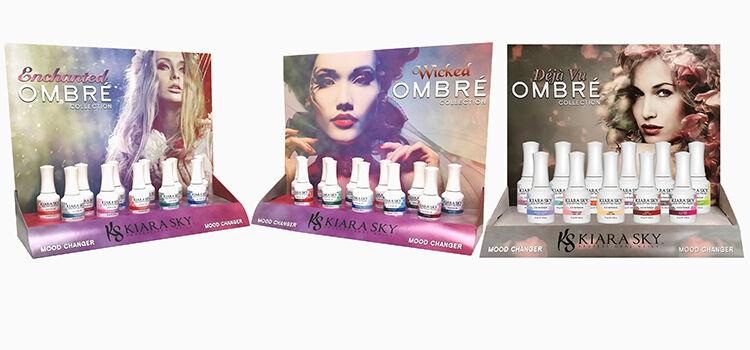 Kiara Sky Ombre Collection - 44 Mood Changing Gel Polish Col
