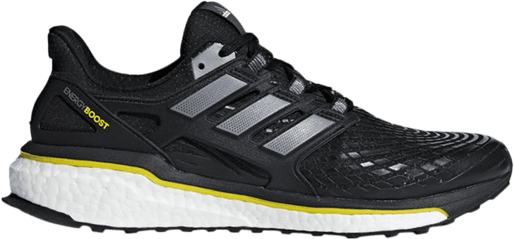 Mens Adidas Energy Boost Black Athletic Sport Running Shoes CQ1762 Sizes 9-12 1