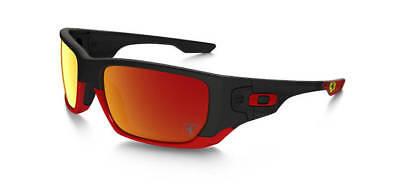NEW Oakley - Ferrari STYLE SWITCH - Matte Black / Ruby Iridium, OO9194-24 (Oakley Style Switch)