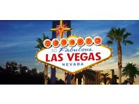 1x RETURN FLIGHT in JUNE: LAS VEGAS from MANCHESTER £490