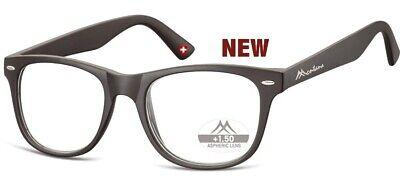 Grosse  Brille Montana MR67 Lesebrille Lesehilfe mit Etui +1,0; bis +3,5