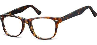 Brille havanna AC15 Wayfarer-Style LESEBRILLE Fertigbrille bis +4,00 Dptr