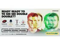 London Double Header, Saracens v Worcester warriors - Harlequins v Bristol