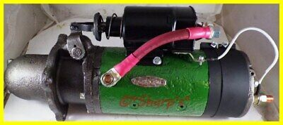 1113801 Ar11073 John Deere 720 730 820 830 24 Volt Starter Rebuilt W Solenoid