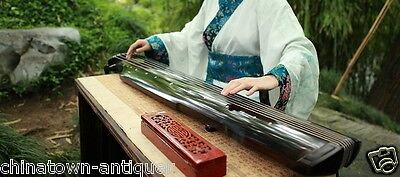 """48"""" Professional Guqin Chinese 7-stringed zither instrument Zong-ni Style #4039"""