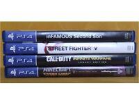 PlayStation 4 PS4 games