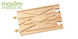 NEW-MAXIM-6-SWITCHING-CROSSING-TRACK-For-Brio-Thomas-Wooden-Trains