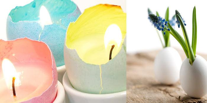 Aus Eierschalen lassen sich erstaunlich schöne Dinge basteln. (Copyright: Thinkstock/ über The Digitale)