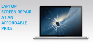 Damaged  Laptop Screen Replacements