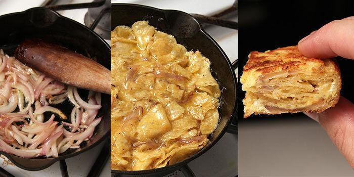 Dank Chips wird die Tortilla innen zart und außen extra-knusprig. (©  J. Kenji López-Alt)