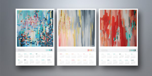 50 CUSTOM LETTER SIZE CALENDAR 28 PAGES FOR JUST $225 ONLY
