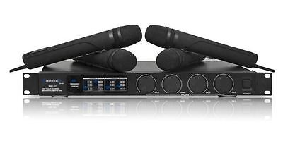Technical Pro WM1401 (4) Vhf  Wireless Professional Microphone System