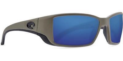 9b5fc40ebd0 New Costa del Mar Blackfin Polarized Sunglasses Matte Moss Blue Mirror 580G  Glas