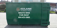 Disposal Bins For Rent