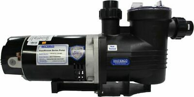 Supastream Pump With 1-12 Quick Connect Unions 2 Hp