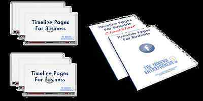 Facebook Timeline Pages For Business  Videos   Reports On 1 Cd