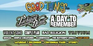 2 x good things tickets