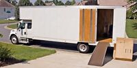 Any time MOVING SERVICES, DÉMÉNAGEMENT, PROFESSIONAL & INSURED