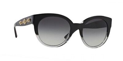 28d01f8d706 NWT Versace Sunglasses VE 4294 51508G Black Crystal Purple   Gradient Gray  56 mm