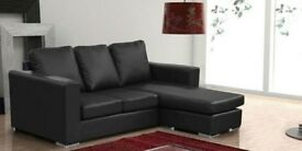 *COME AND VIEW IT ,TRY IT THEN BUY IT* BRAND NEW NERO CHAISE 3 SEATER/CORNER SOFA FAST DELIVERY
