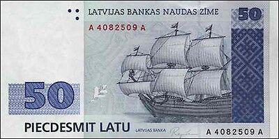 Lettland / Latvia 50 Latu 1992 Pick 46