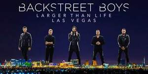 Backstreet Boys Larger Than Life Tour- LAS VEGAS- July 1st