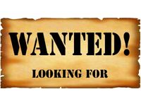 **WANTED** Black/Dark Brown Fabric or Leather Sofa with 1 Armchair