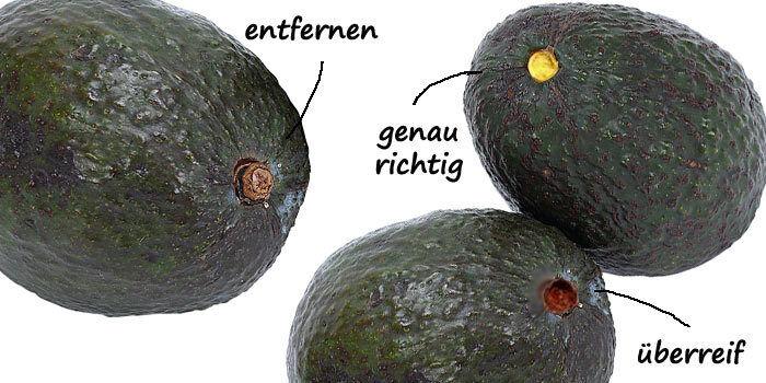 Den Reifegrad einer Avocado zu bestimmen ist mit diesem Test kinderleicht. (Thinkstock/ Bearbeitung: The Digitale)