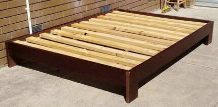 queen bed base with mattress