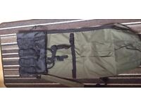 BRAND NEW Canvas Fishing Rod Case Bag