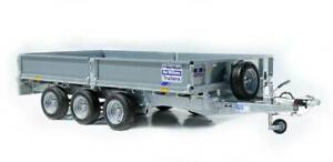 new Ifor Williams flatbed trailer LM147 Tri Axle 3.5T ATM Kenwick Gosnells Area Preview