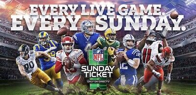 NFL Sunday Ticket MAX-Entire 2020 Season | Instant Delivery+Warranty
