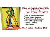 Short notice Deep professional Cleaning service - Save time and money !!!