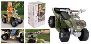 Fisher Price Camo Lil Quad Power Wheels