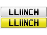 Lynch Linch Llinos Lich Lunch Llan Number Plate LL11NCH