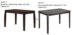 *NEW* BRAND NAME WOOD DINNING TABLE