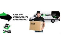 Man and Van Service, its Easy Way To Move It! Luton van + tail lift, The best price in area!