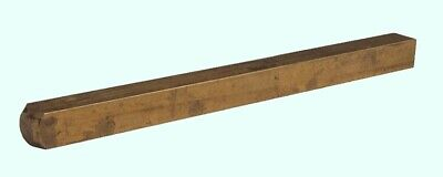 Brass Square Stock 316 X 316 X 3 Ft  Alloy 360 Mill Finish Solid 3 Bar