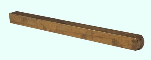"Brass Square Stock  1/4"" x 1/4"" x 3 Ft   Alloy 360  Mill Finish  Solid 3"