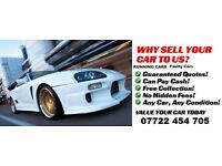 Wanted Mot Failures Faulty Cars Turbo Running Audi Bmw Vauxhall Merc Vw Ford Renault Saab NO SCRAP