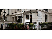 Little Venice pub looking for full time and part time staff
