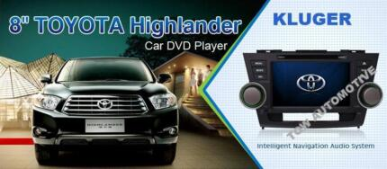 """TOYOTA KLUGER******2013 8"""" BIG SCREEN GPS DVD BLUETOOTHE USB IPOD Darch Wanneroo Area Preview"""
