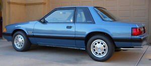 1987, 1988, 1989, 1990 Ford Mustang Coupe