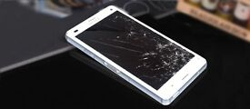Sony Xperia(All Z)cracked screen & Lumia Cracked screen Repair on the SAME DAY! BEST SAVER OFFER!!!