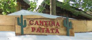 Affiches Enseigne Panneaux en bois Western wooden signs West Island Greater Montréal image 3