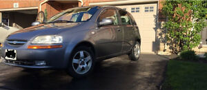 Chevy Aveo 5 OBO!! , GREAT ON GAS