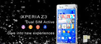 Brand new Unlocked Sony Xperia Z3 Dual LTE 20MP water proof