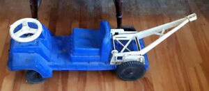 Vintage  1960's Andy Gard Ride On Toy Tow Truck