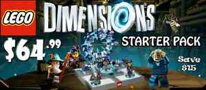 LEGO Dimensions Starter Pack (Wii U) - New/Sealed