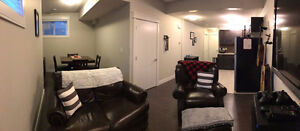 One Room Basement with Separate Entrance